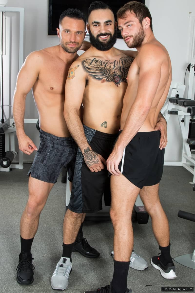 Hottie threesome Max Adonis Colby Tucker Zaddy train chain ass fucking IconMale 006 Gay Porn Pics - Hottie threesome Max Adonis, Colby Tucker and Zaddy train chain ass fucking