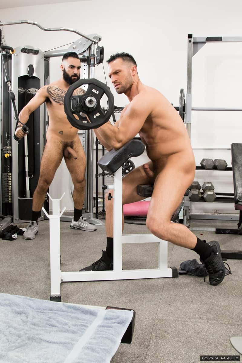 Hottie threesome Max Adonis Colby Tucker Zaddy train chain ass fucking IconMale 008 Gay Porn Pics - Hottie threesome Max Adonis, Colby Tucker and Zaddy train chain ass fucking