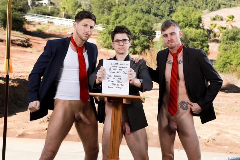 Hardcore ass fucking threesome with Ryan Jordan, Will Braun and Roman Todd