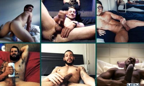 Lockdown circle jerk with Dante Colle, Luis Rubi, Calvin Banks, Johnny Hill, Elijah Wilde and Rhyheim Shabazz