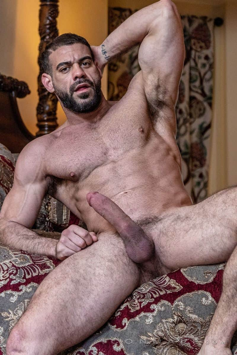 Hairy muscle dudes Mason Lear Ricky Larkin big thick dick anal fucking 011 gay porn pics - Hairy muscle dudes Mason Lear and Ricky Larkin big thick dick anal fucking