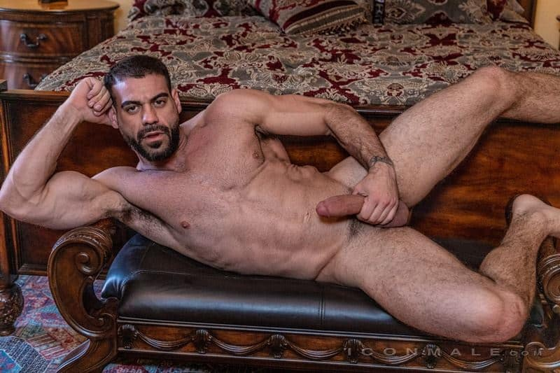 Hairy muscle dudes Mason Lear Ricky Larkin big thick dick anal fucking 015 gay porn pics - Hairy muscle dudes Mason Lear and Ricky Larkin big thick dick anal fucking