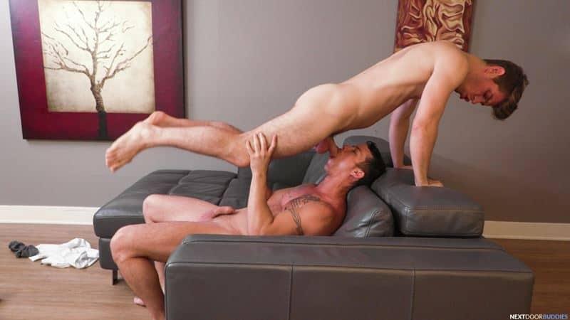 Michael Del Ray huge cock bareback anal fucking cute guy Nic Sahara hot ass hole 002 gay porn pics - Michael Del Ray's huge cock bareback anal fucking cute guy Nic Sahara's hot ass hole