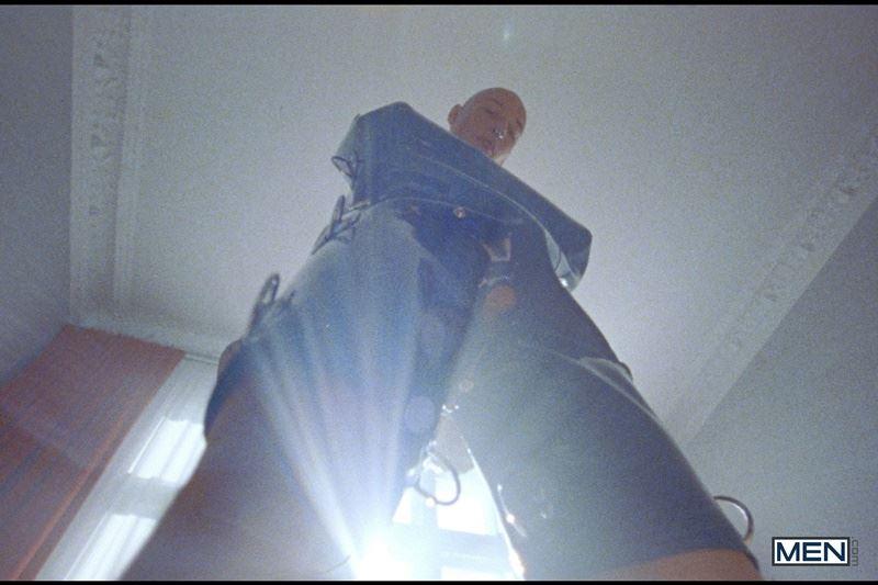 Super dominant top Commander Ares punish subordinate sub boy Roughkicks latex straitjacket 008 gay porn pics - Super dominant top Commander Ares punishes his subordinate sub boy Roughkicks in latex straitjacket