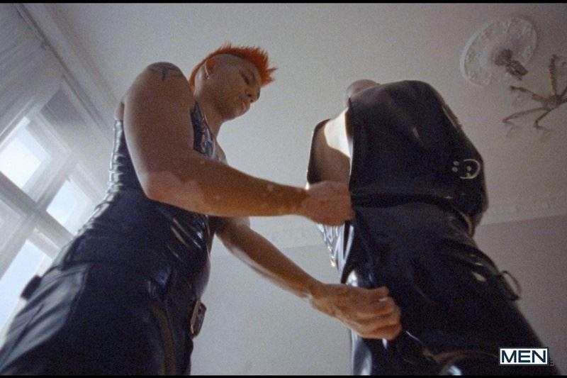 Super dominant top Commander Ares punish subordinate sub boy Roughkicks latex straitjacket 009 gay porn pics - Super dominant top Commander Ares punishes his subordinate sub boy Roughkicks in latex straitjacket