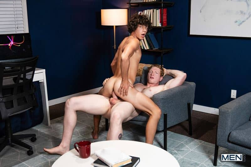 Ripped young stud Kaleb Stryker hot hole bare fucked Kyle Connors huge dick 020 gay porn pics - Ripped young stud Kaleb Stryker's hot hole bare fucked by Kyle Connors's huge dick
