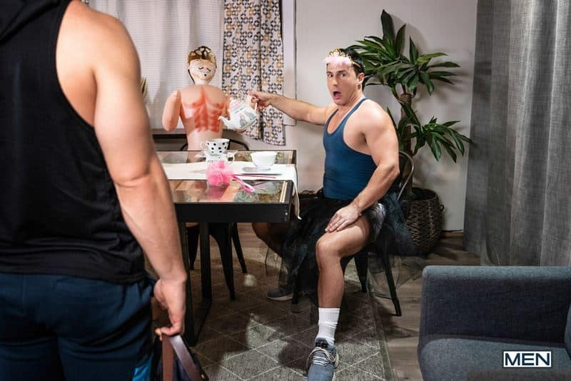 Sexy young muscle stud Johnny Donovan hot bare asshole bareback fucked Reese Rideout huge erect dick 013 gay porn pics - Sexy young muscle stud Johnny Donovan's hot bare asshole bareback fucked by Reese Rideout's huge erect dick