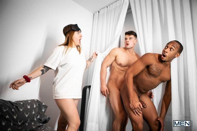 Trent King tight black asshole bare fucked ripped muscle boy Malik Delgaty huge raw cock 018 gay porn pics - Trent King's tight black asshole bare fucked by ripped muscle boy Malik Delgaty's huge raw cock