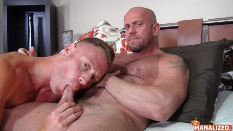 Hairy chested muscle dude Matt Stevens hot asshole bare fucked younger muscled stud Saxon West 0 gay porn image 768x432 - Hairy chested muscle dude Matt Stevens's hot asshole bare fucked by younger muscled stud Saxon West