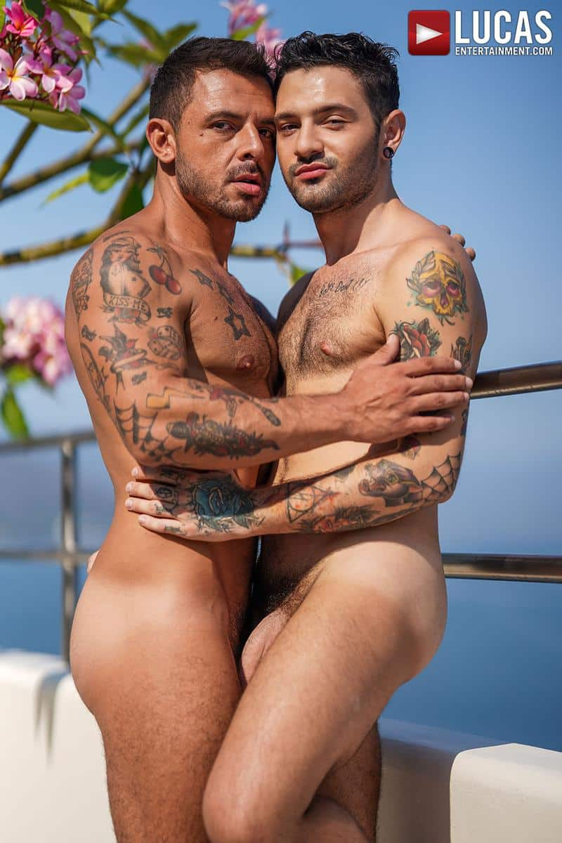 Horny muscled hunk Rudy Gram huge uncut dick raw fuck younger muscle boy Igor Lucios Lucas Entertainment 5 gay porn image - Horny muscled hunk Rudy Gram's huge uncut dick raw fuck younger muscle boy Igor Lucios at Lucas Entertainment