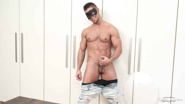Ripped huge muscled dude Angelo Godshack jerking huge thick cock Maskurbate 0 gay porn image 768x432 - Ripped huge muscled dude Angelo Godshack jerking his huge thick cock at Maskurbate