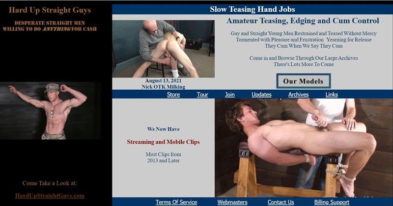 Slow Teasing Hanjobs Honest Gay Porn Site Review - Slow Teasing Handjobs - Gay Porn Site Review