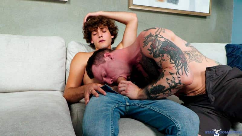 Stag Collective sexy muscle dude Blake Wilder bottoms cute young top Tyler James huge raw cock 12 gay porn image - Stag Collective sexy muscle dude Blake Wilder bottoms for cute young top Tyler James's huge raw cock