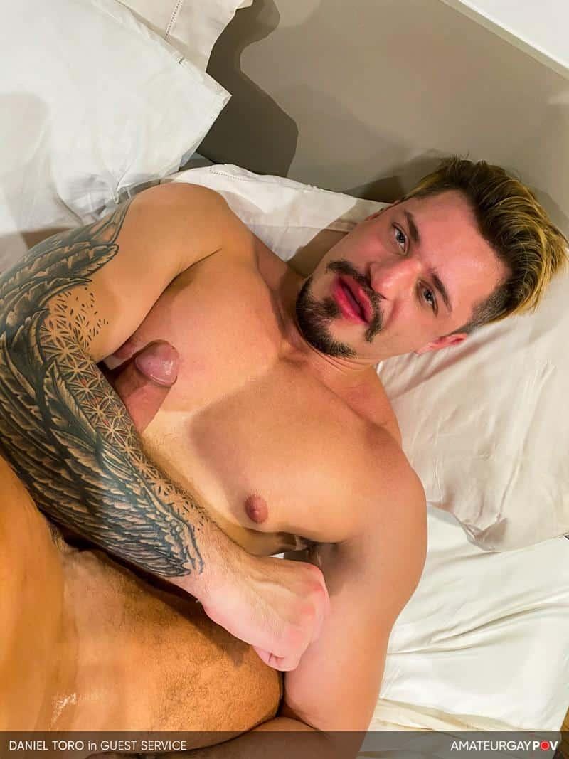 Amateur Gay POV sexy muscle dude Daniel Toro hot asshole raw fucked big muscle hunk Manuel Skye 16 gay porn image - Amateur Gay POV sexy muscle dude Daniel Toro's hot asshole raw fucked by big muscle hunk Manuel Skye