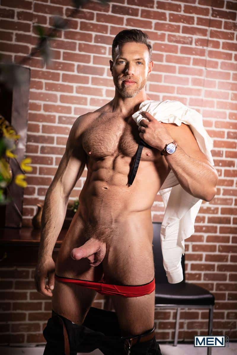 Hairy chested muscle dude Alex Mecum huge dick raw fucking Benjamin Blue bubble butt Men 10 gay porn image - Hairy chested muscle dude Alex Mecum's huge dick raw fucking Benjamin Blue's bubble butt at Men