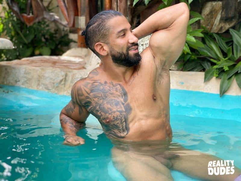 Reality Dudes sexy Latin dude Octavio bare asshole raw fucked young bearded hunk Rob Campos 1 gay porn image - Reality Dudes sexy Latin dude Octavio's bare asshole raw fucked by young bearded hunk Rob Campos