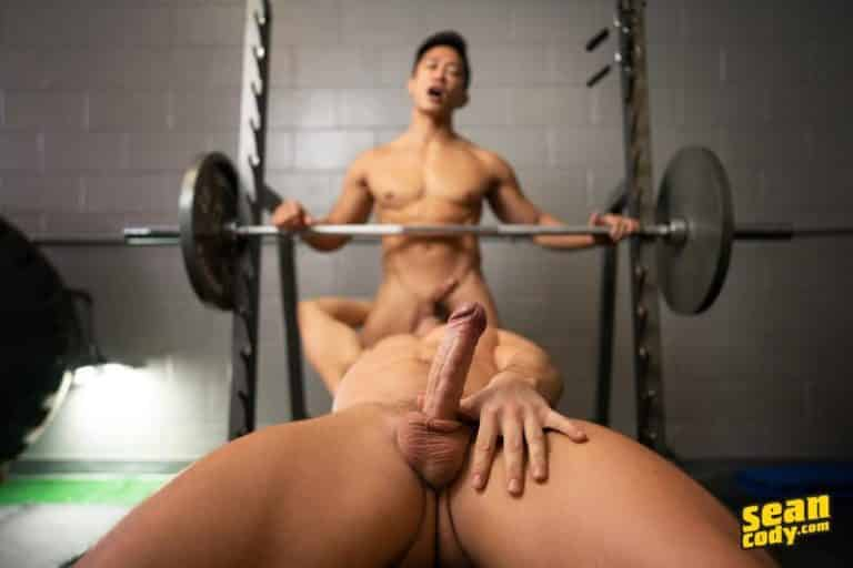 Sexy muscle stud Deacon huge thick cock raw fucking Asian muscled hunk Dale hot asshole 0 gay porn image 768x512 - Sexy muscle stud Deacon's huge thick cock raw fucking Asian muscled hunk Dale's hot asshole