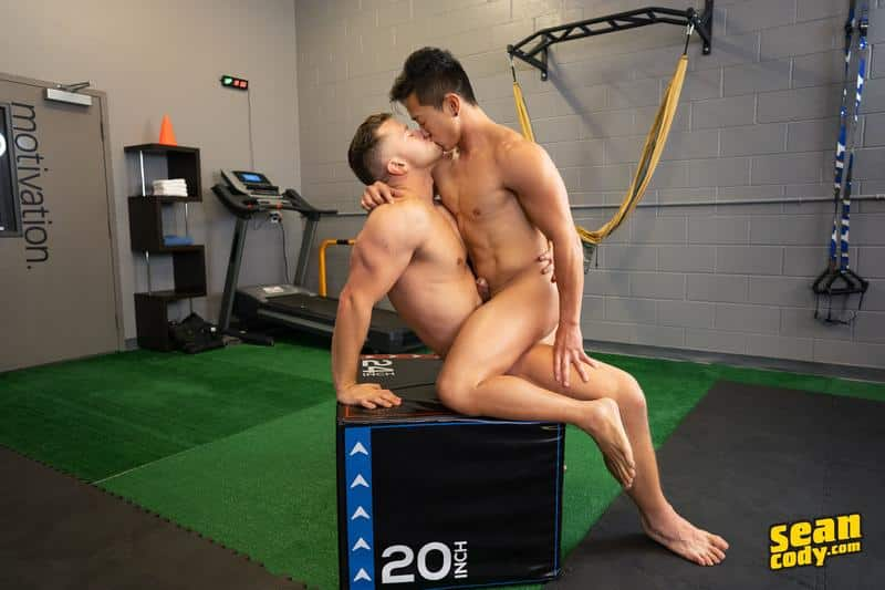 Sexy muscle stud Deacon huge thick cock raw fucking Asian muscled hunk Dale hot asshole 12 gay porn image - Sexy muscle stud Deacon's huge thick cock raw fucking Asian muscled hunk Dale's hot asshole