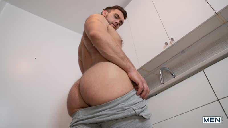 Sexy young stud Aiden Ward big thick dick raw fucking Blaze Austin hairy ass hole Men 12 gay porn image - Sexy young stud Aiden Ward's big thick dick raw fucking Blaze Austin's hairy ass hole at Men