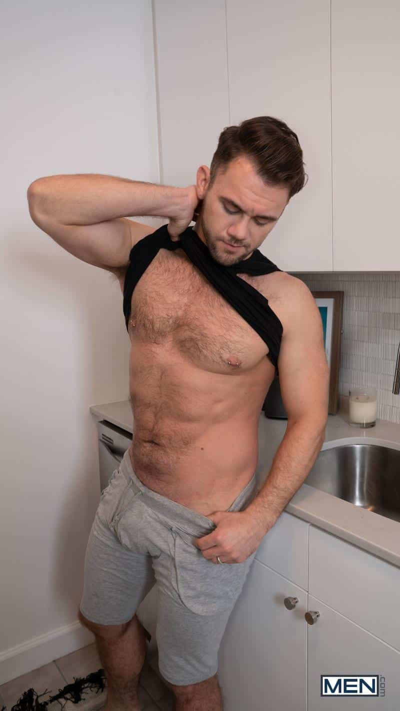 Sexy young stud Aiden Ward big thick dick raw fucking Blaze Austin hairy ass hole Men 8 gay porn image - Sexy young stud Aiden Ward's big thick dick raw fucking Blaze Austin's hairy ass hole at Men