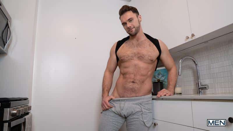 Sexy young stud Aiden Ward big thick dick raw fucking Blaze Austin hairy ass hole Men 9 gay porn image - Sexy young stud Aiden Ward's big thick dick raw fucking Blaze Austin's hairy ass hole at Men