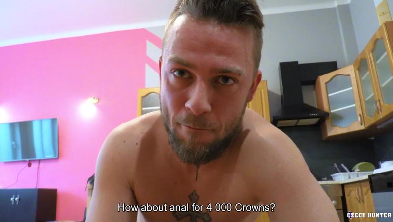 Horny young straight hunk bottoms my huge uncut foreskined cock Czech Hunter 599 15 gay porn image - Horny young straight hunk bottoms for my huge uncut foreskined cock at Czech Hunter 599