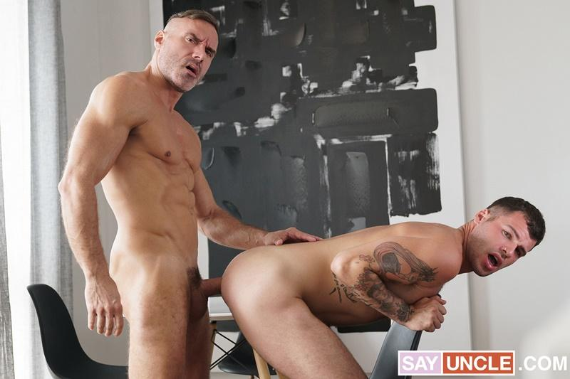 Muscle daddy Manuel Skye huge raw dick fucking sexy step son Tan Blitz smooth asshole Dad Creep 1 gay porn image - Muscle daddy Manuel Skye's huge raw dick fucking sexy step-son Tan Blitz's smooth asshole at Dad Creep