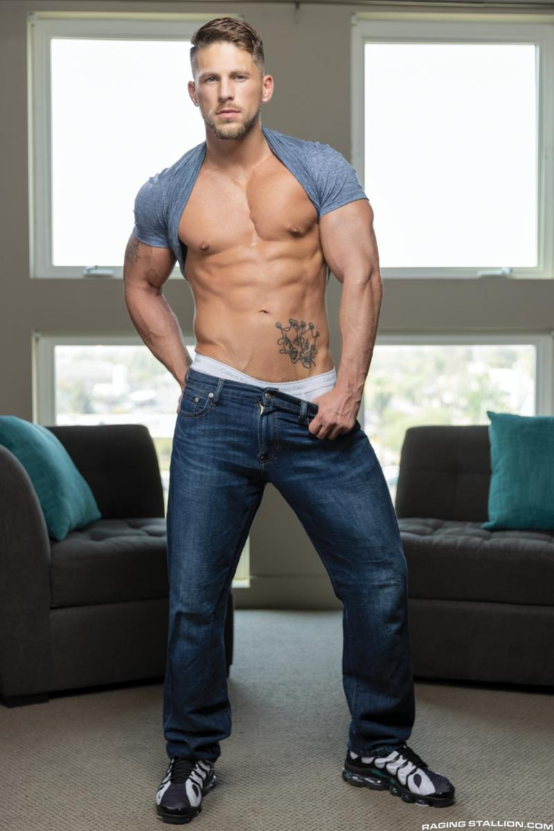 Raging Stallion hottie ripped dude Roman Todd hot hole raw fucked Chris Damned huge dick 2 gay porn image - Raging Stallion hottie ripped dude Roman Todd's hot hole raw fucked by Chris Damned's huge dick
