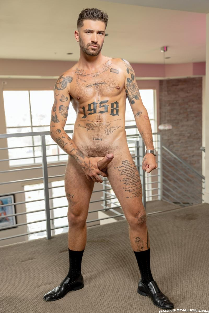 Raging Stallion hottie ripped dude Roman Todd hot hole raw fucked Chris Damned huge dick 5 gay porn image - Raging Stallion hottie ripped dude Roman Todd's hot hole raw fucked by Chris Damned's huge dick