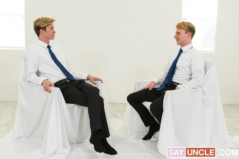 Sexy young junior priest Eric Charming hot hole raw fucked President Jordan Lake huge raw cock Missionary Boys 2 gay porn image - Sexy young junior priest Eric Charming's hot hole raw fucked by President Jordan Lake's huge raw cock at Missionary Boys